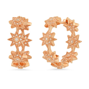 Baby Star Hoops - Three Colors