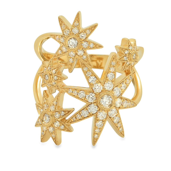 Galaxia Star Diamond Ring