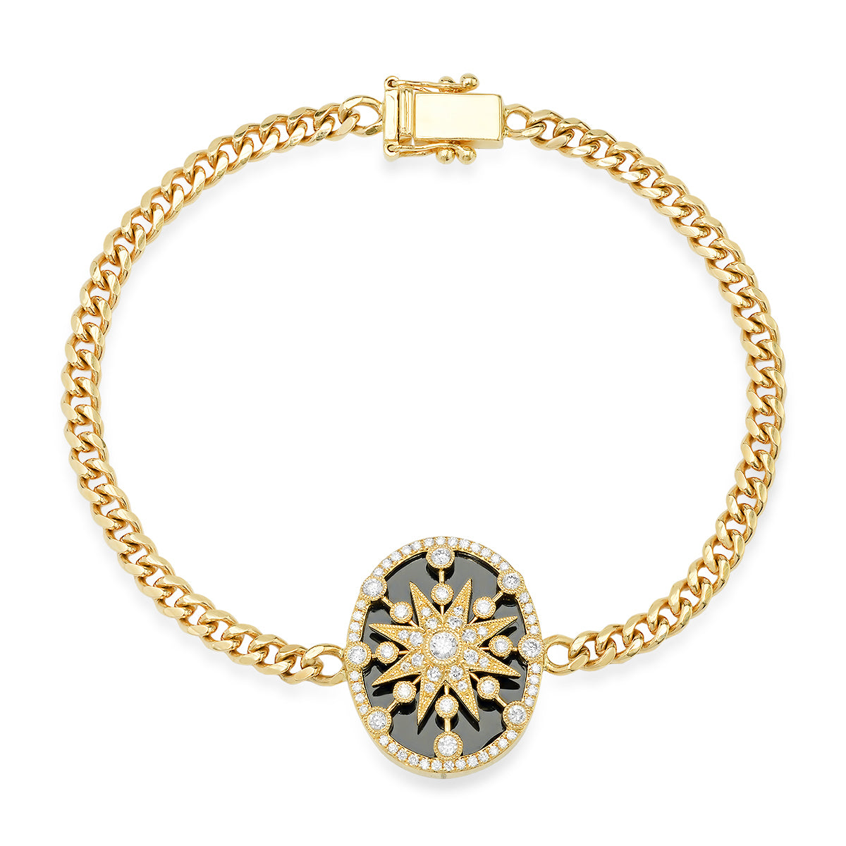 Galaxia Cage Star Diamond Bracelet