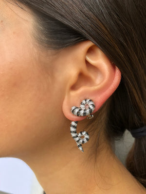 Bharal Horn Earrings