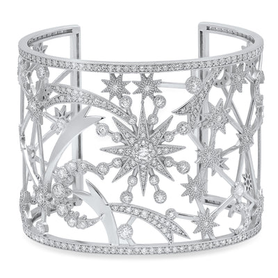 Galaxia cuff by Colette Jewelry - diamonds 18K