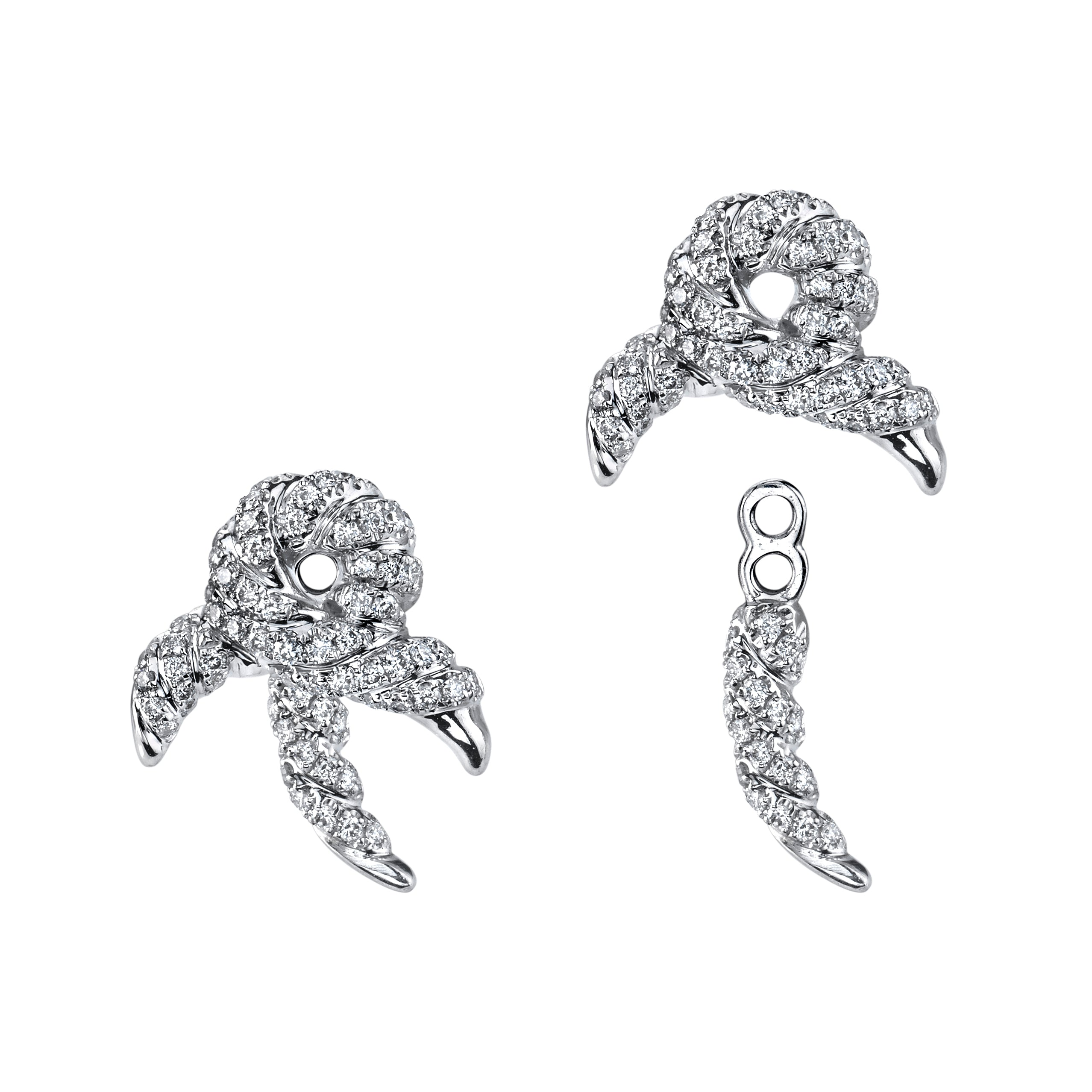 Markhor Earrings