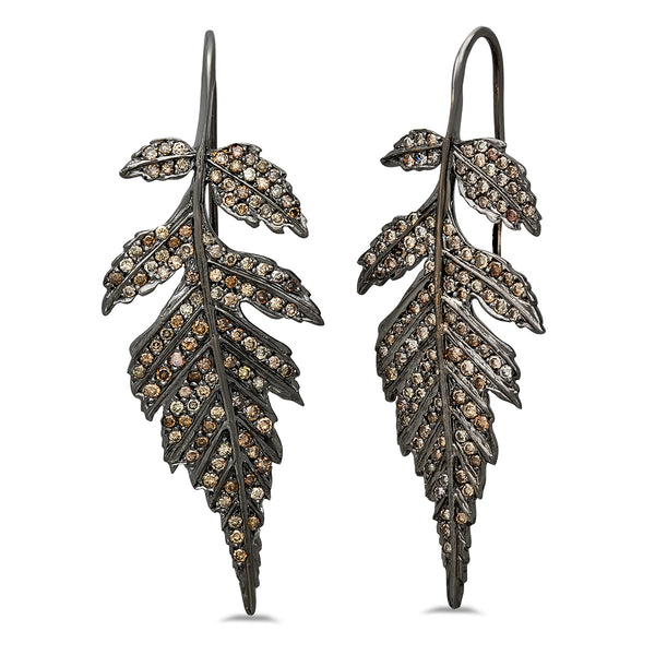 Grande Feuille Earrings