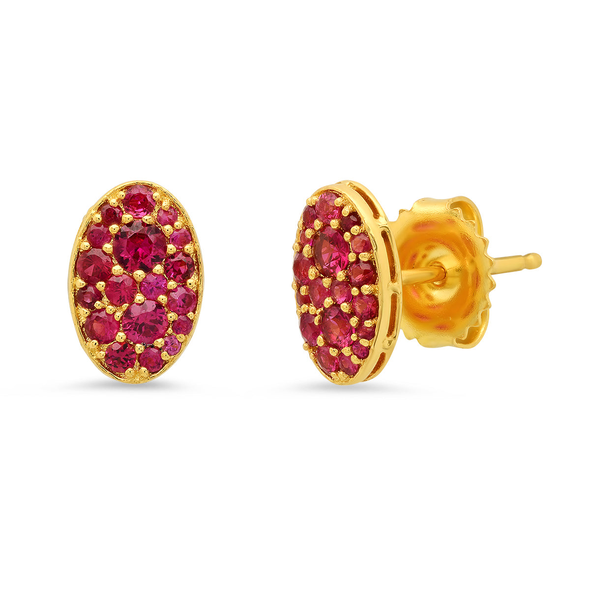 Baby Les Chevalières Ruby Studs