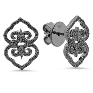 Black Marrakech Studs