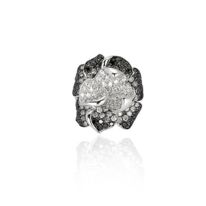 Iceberg Rose Ring