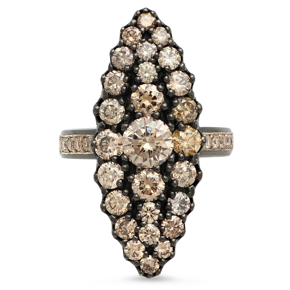 Champagne Marquise Ring