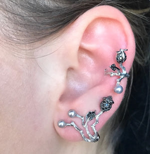 Silybum Ear Cuff