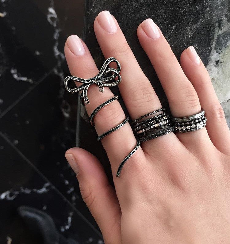 Bryanna Full Finger Ring