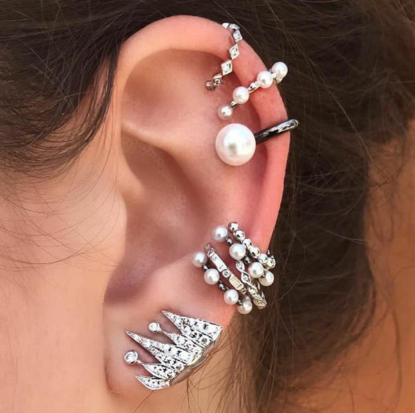 La Perla Ear Cuff - Two Colors