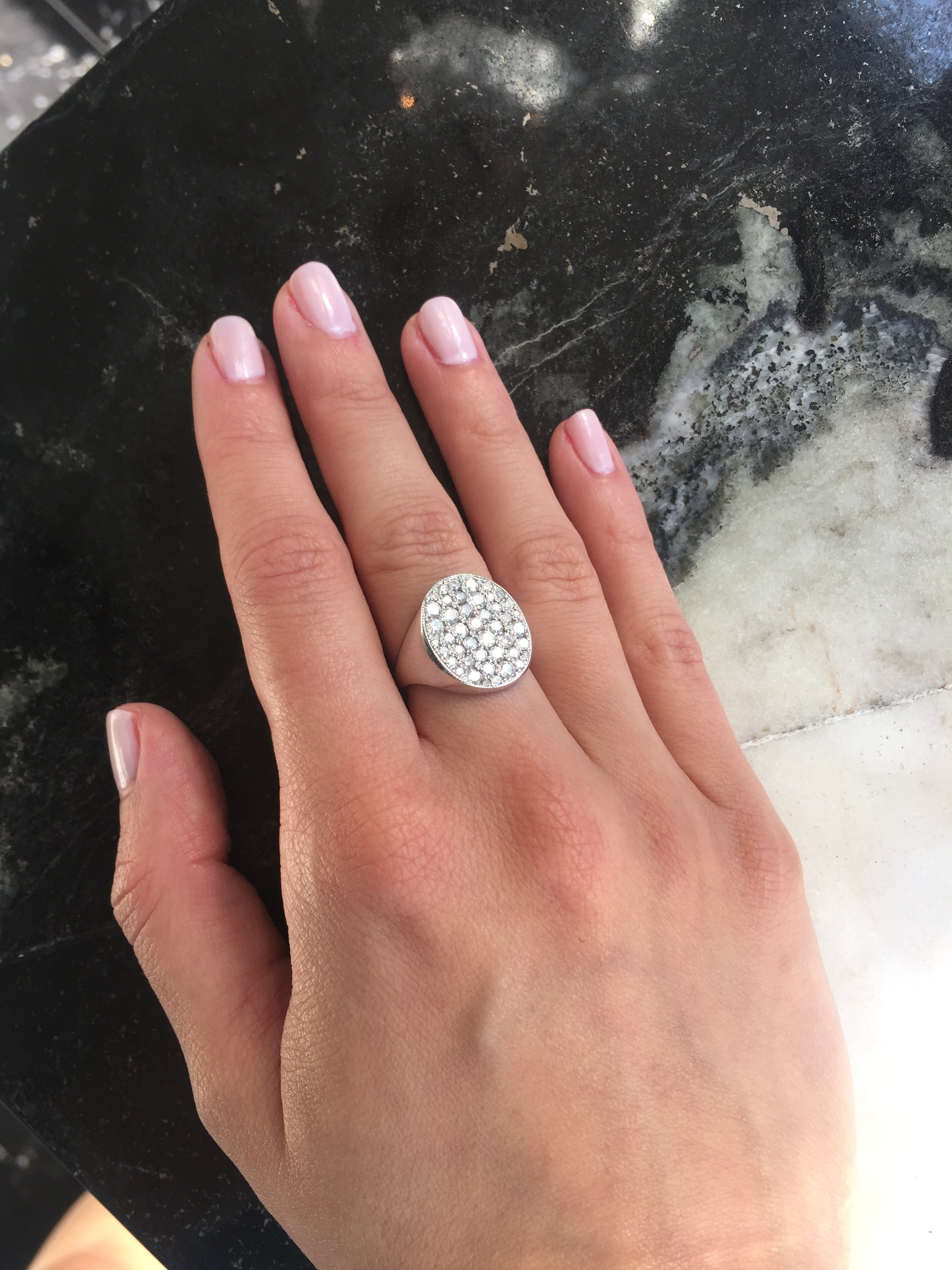 White Honor Ring