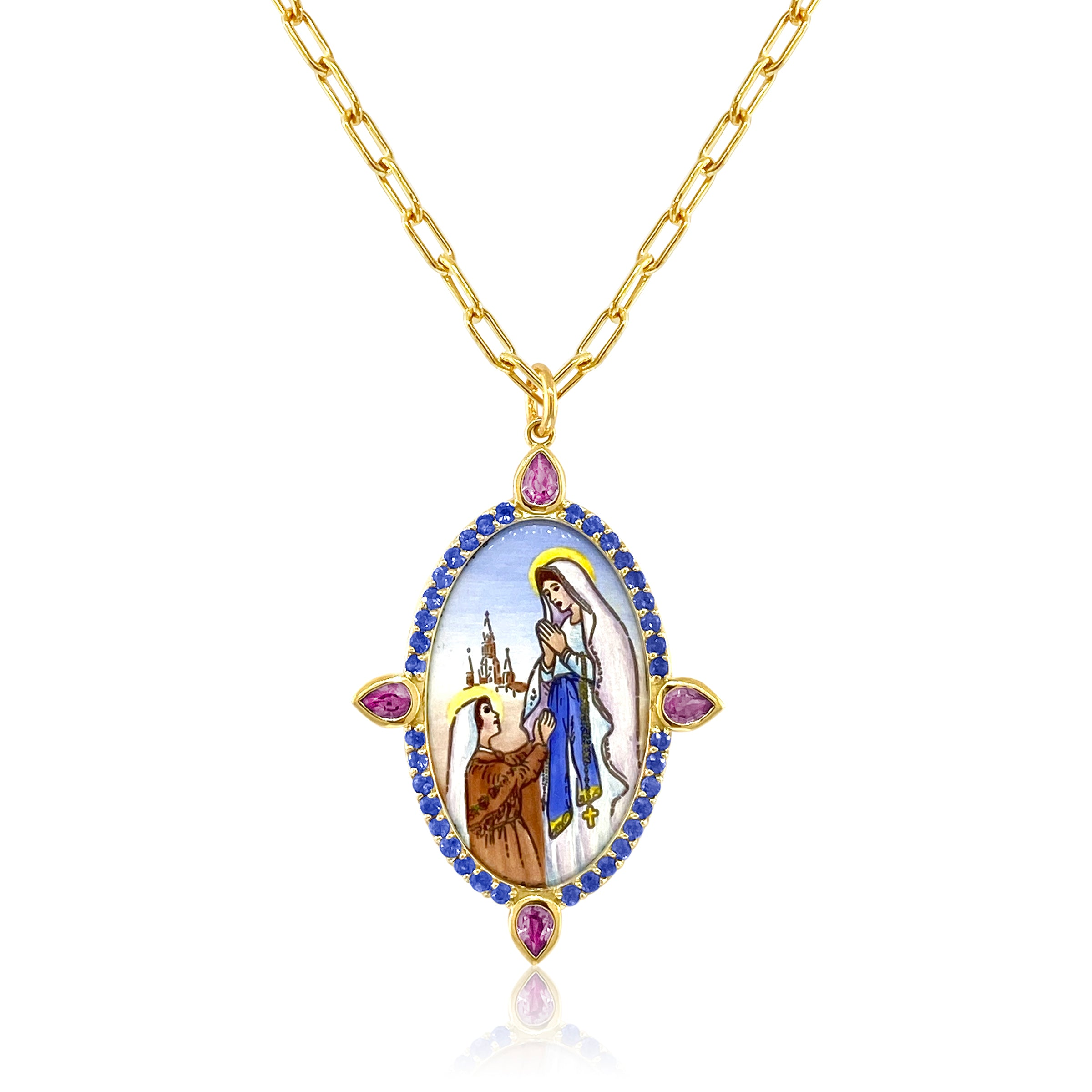 Our Lady of Fatima Pendant