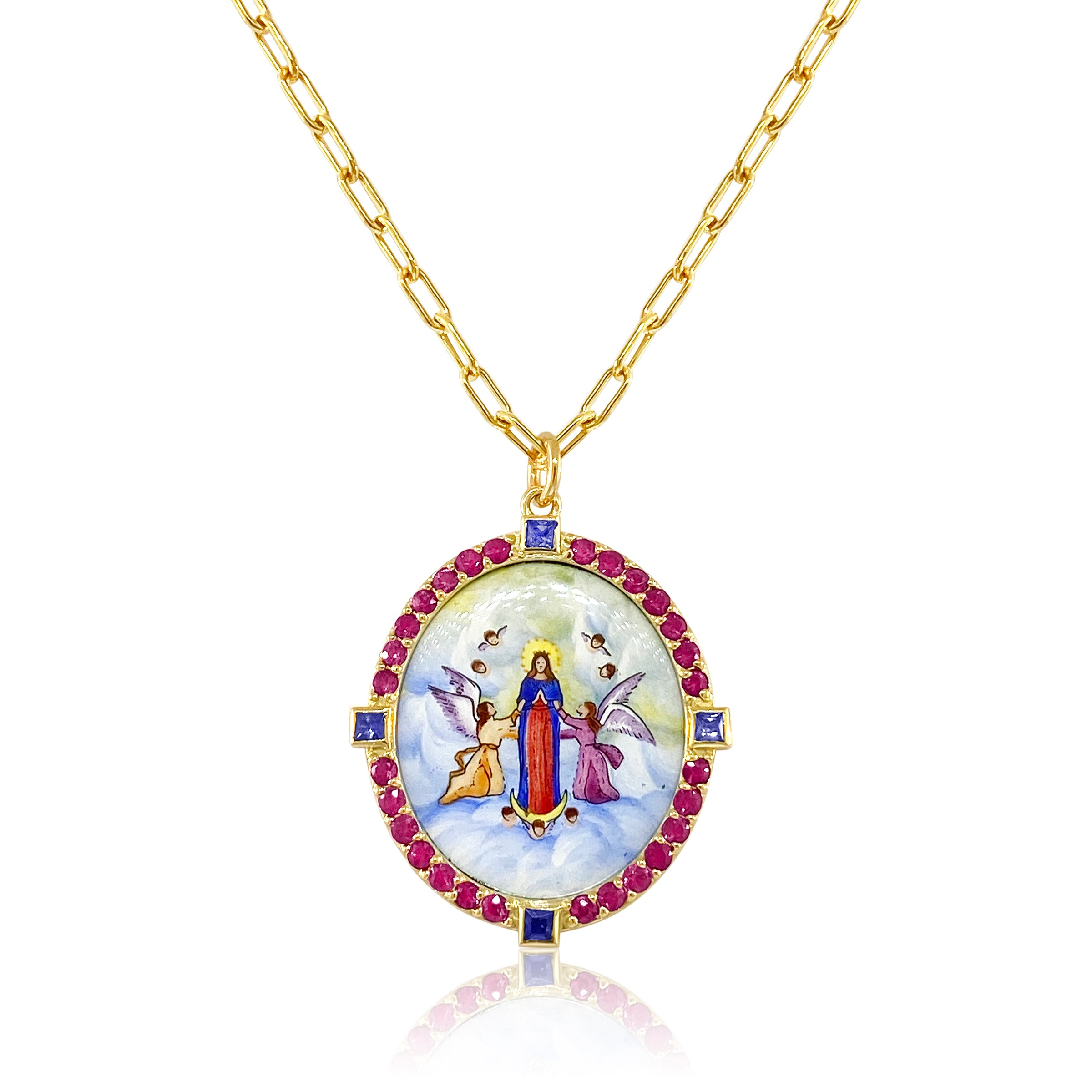 Assumption of the Blessed Virgin Mary Pendant