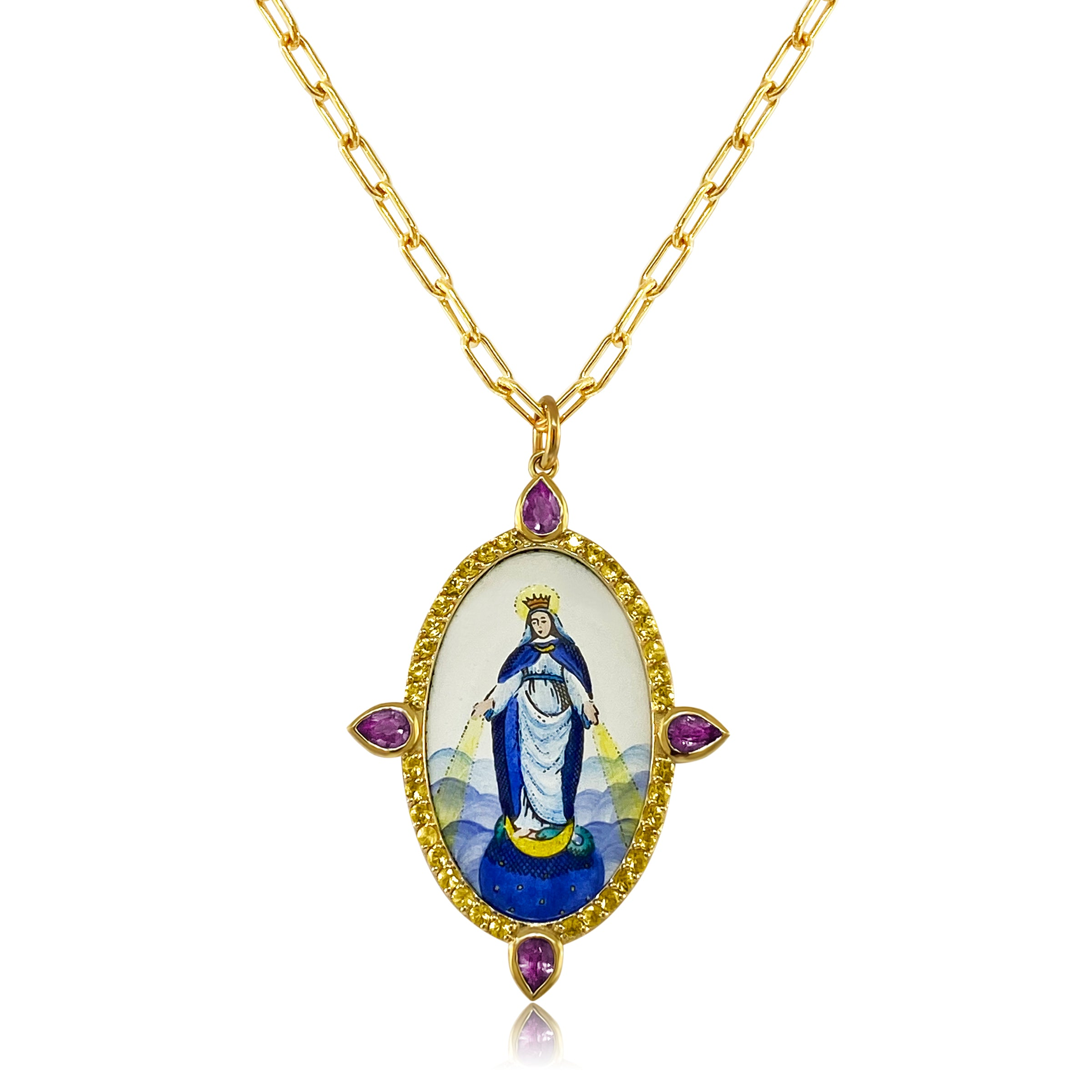 Our Lady of the Miraculous Pendant