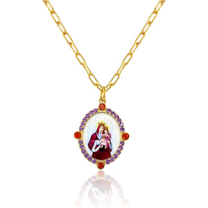 Our Lady of Carmel Pendant