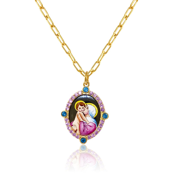 Our Lady of Good Advice Pendant