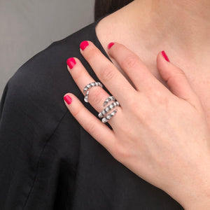 Mouflon Two-Piece Ring