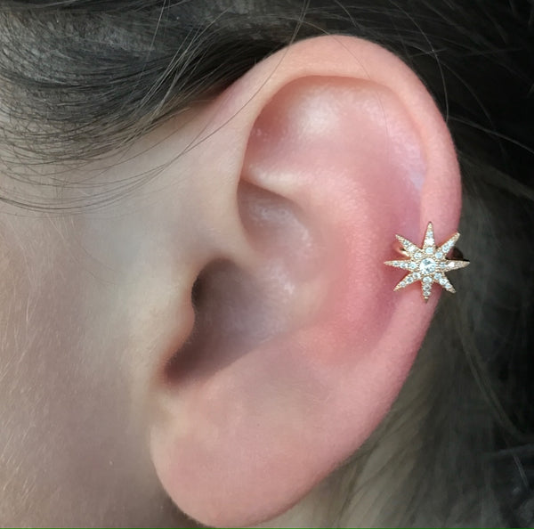 Twinkle Ear Cuff - Two Colors