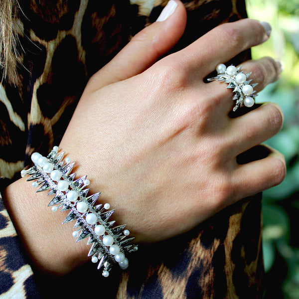 Enchanted Pearl Cuff
