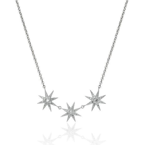 Tri-Star Necklace