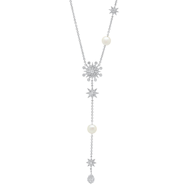 Galaxia Pearl Necklace