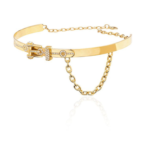 Belt Collar - Yellow