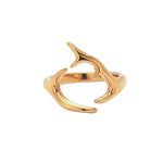 Pink Small Horns Ring