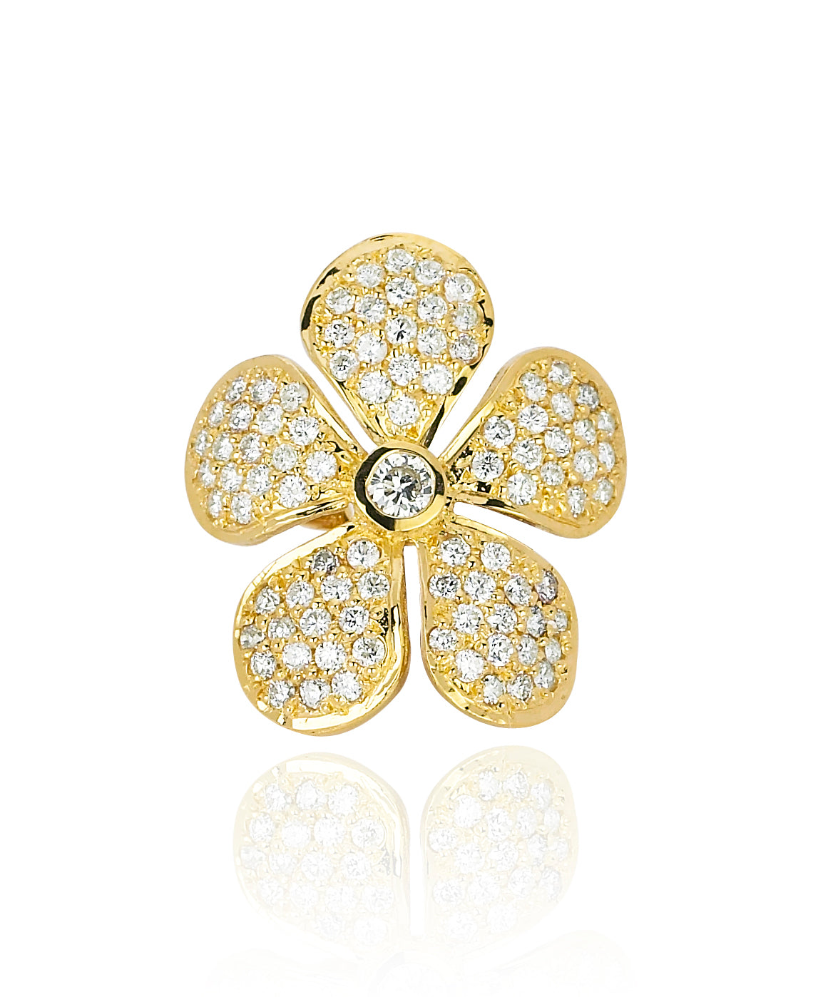 Colette Ear Cuff - Yellow