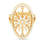 White Monoceros Ring