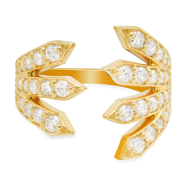 Penacho Diamond Ring