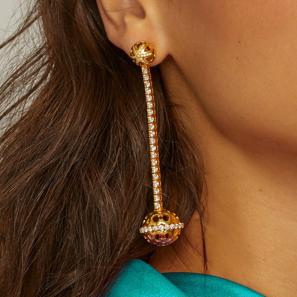 Marrakech Long Earrings