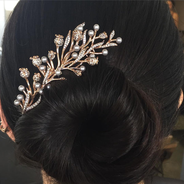 Thistle Side Hair Comb