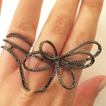 Black Diamond Belle Ring