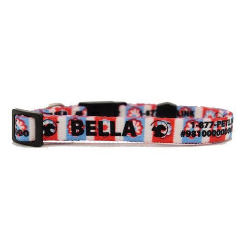 4th of July Break-Away Cat Collars