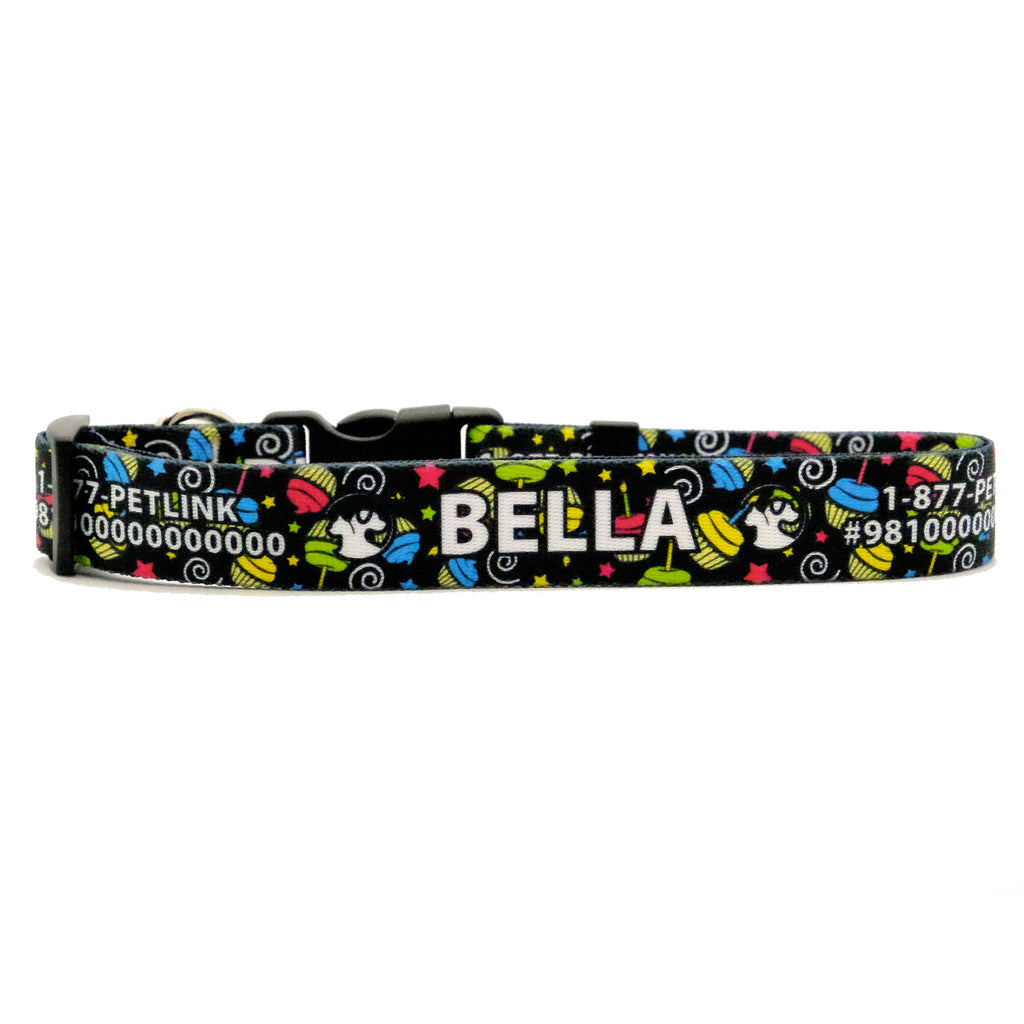 Personalized Birthday Dog Collars