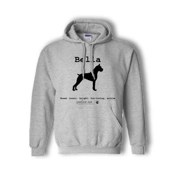 Personalized Breed Definition Hoodie