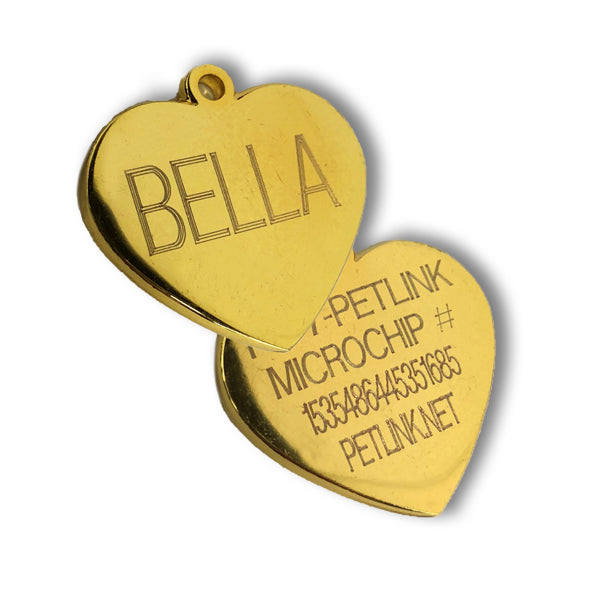 Personalized Nickel Alloy Tags (2 colors & 3 shapes available)