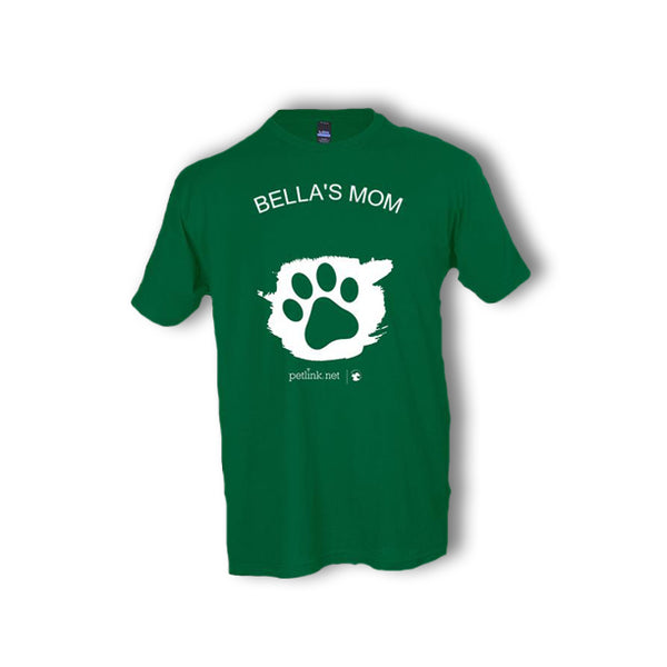 Personalized Unisex Paw T-Shirt (6 colors available)
