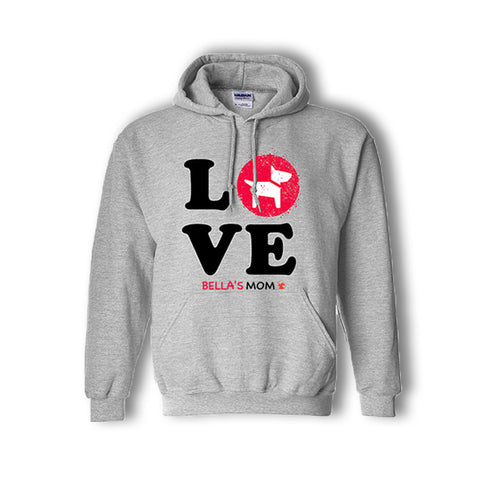 Personalized LOVE Hoodie (3 designs & 2 colors available)