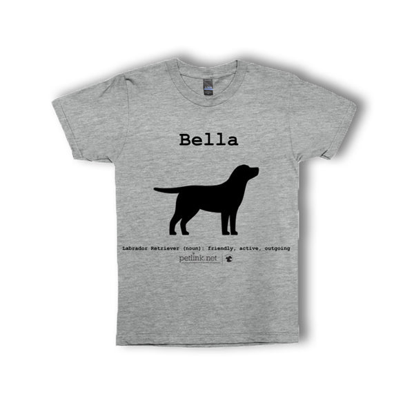 Personalized Breed Definition T-Shirts (breeds A-M)