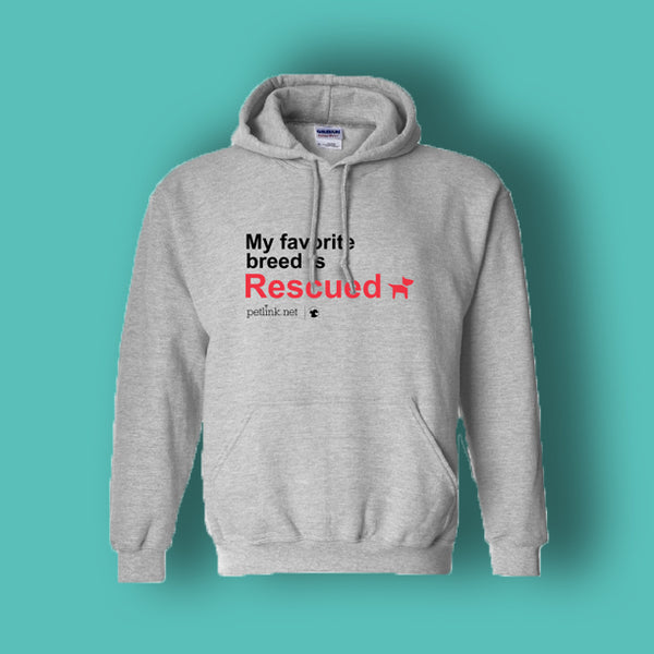 Rescue Pet Hoodie (2 designs available)
