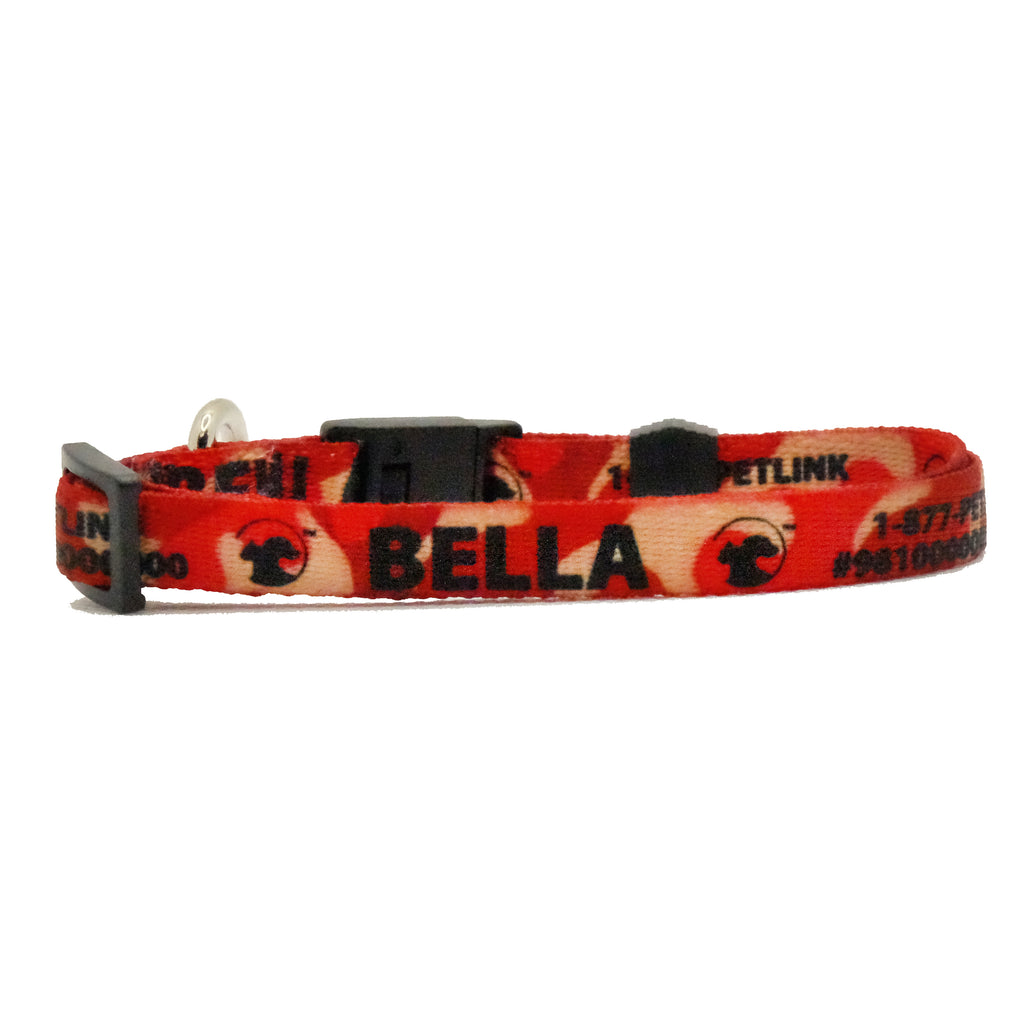 Personalized Patterned Break-Away Cat Collars (10 designs available)