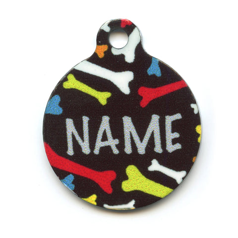 Crazy Bones Collar Tag