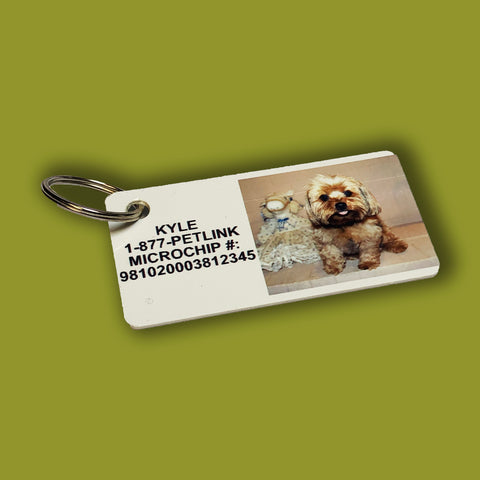 Photo Key Ring Card
