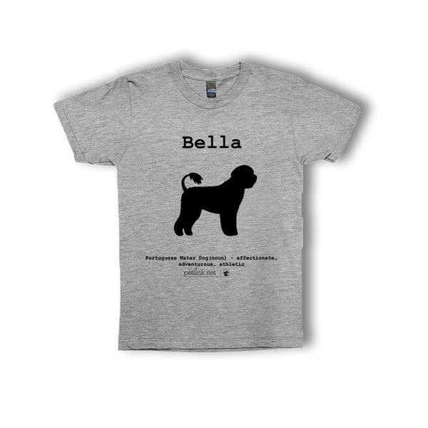 Personalized Breed Definition T-Shirt (breeds N-Z)