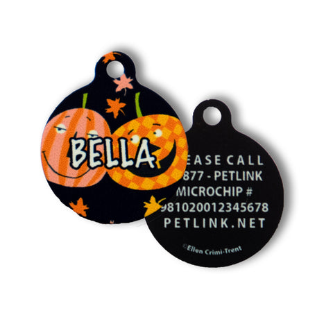 Halloween Collar Tags