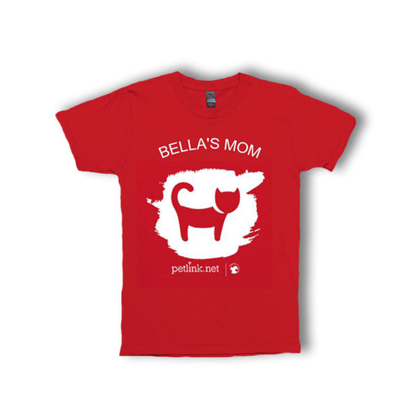 Personalized Unisex Cat T-Shirt (6 colors available)