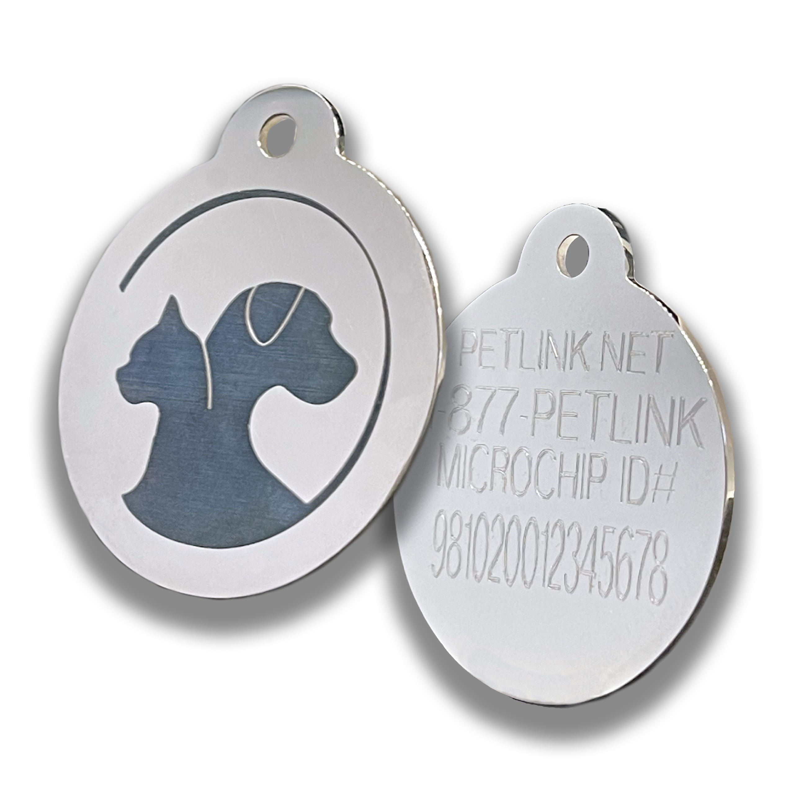 Stainless Steel Collar Tag