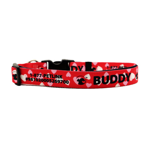 Valentine's Day Dog Collars (4 designs available)