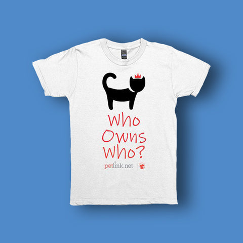 Who Owns Who? Unisex Cat Shirt